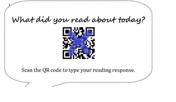 Reading Response QR