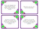 Reading Response Question Cards Common Core