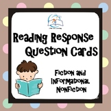 Reading Response Task Cards {Fiction and Informational Non