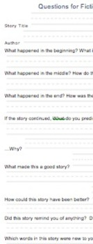 Reading Response Question in Report Form