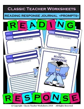 Reading Response - Reading Response Journal Prompts - Grad