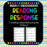Reading Response Reflection with cactus