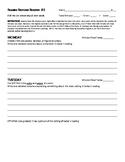 Reading Response Register #1