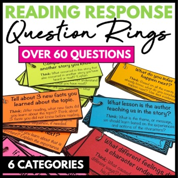 Reading Response Question Rings