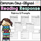 Reading Response Rubrics and Prompts Pack