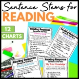 Reading Response Sentence Stem Anchor Charts