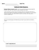 Reading Response Sheet- Caldecott Medal