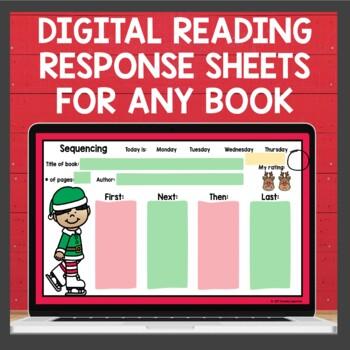 Reading Response sheets December