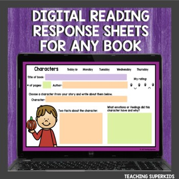 Reading Homework Bundle for the year