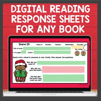 Reading Response Mega Bundle for the year
