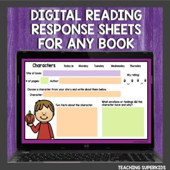 Reading Response Sheets & Graphic Organizers Bundle
