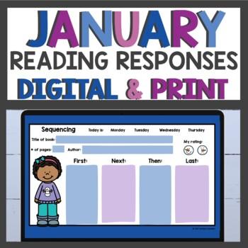 Reading Response Sheets January