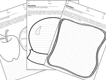 Reading Response Sheets & Book-Tracking Chart