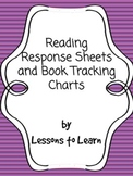 Reading Response Sheets & Book-Tracking Chart