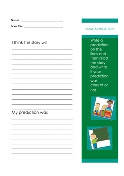 Reading Response Sheets, Common Core Aligned