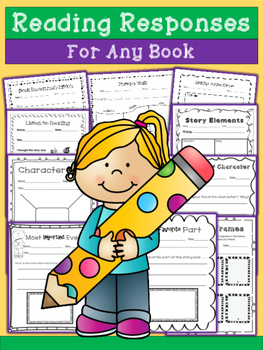 Reading Response Printables - For Any Book!