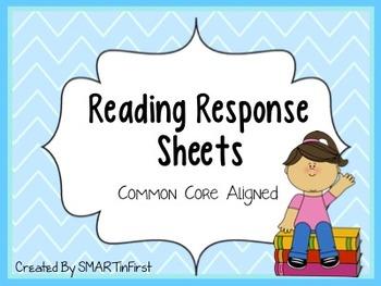 Reading Response Sheets Packet