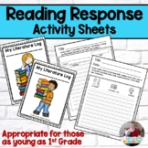 Reading Response Sheets (Primary)