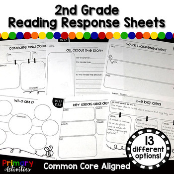 Reading Response Sheets - Second Grade