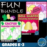 Reading Response Sheets for Any Book - Fun Bundle