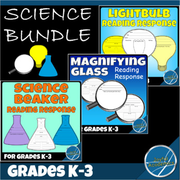 Reading Response Sheets for Any Book - Science Bundle