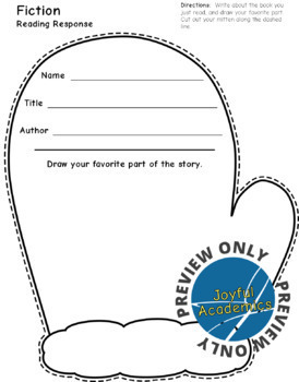 Reading Response Sheets for Any Book - Winter Bundle 2