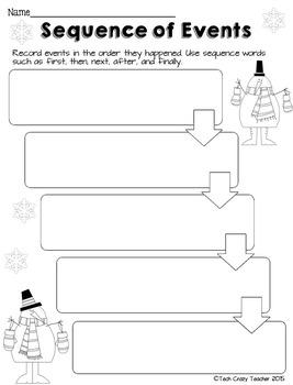 Reading Response Sheets for NONFICTION (HOTS): Winter Edition No Prep