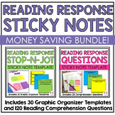 Reading Response Sticky Note Bundle