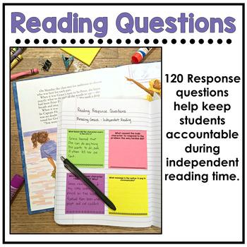 Reading Response Sticky Note Bundle