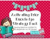 Activating Prior Knowledge Strategy Pack