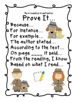 Reading & Response Strategy Posters