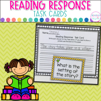 Reading Response Task Cards