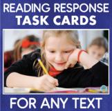 Reading Response Task Cards 2nd/3rd Grade