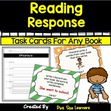 Reading Response Activities and Task Cards | 1st -2nd  | FOR ANY BOOK!
