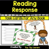 Distance Learning Reading Response Activities and Task Car