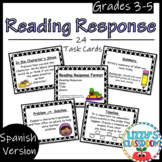 Reading Response Task Cards- Spanish