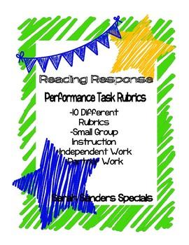 Reading Response Task Performance Rubrics