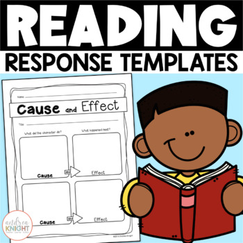 Reading Response Templates for Any Book  {Literature and Informational Texts}