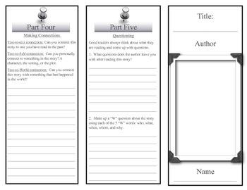 Reading Response Tri-Fold for any story