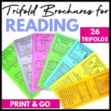 Reading Response Trifold Brochures