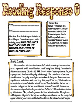 Reading Response: What people or events are you reminded of?