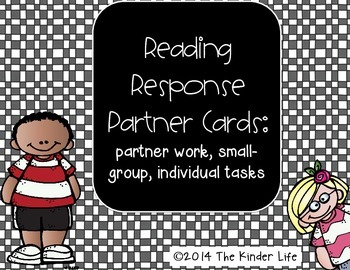 Reading Response Whole Group, Partner, or Individual Quest