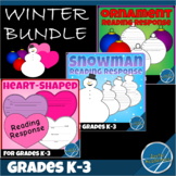 Reading Response for Any Book Grades K-3 - Winter Bundle