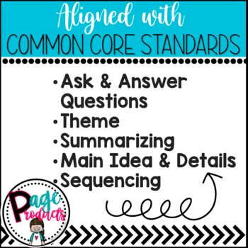 Reading Response Worksheets Aligned with Common Core Standards
