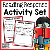 Distance Learning Reading Response Worksheets