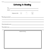Reading Response Worksheets Packet [Common Core: Literacy]