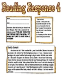 Reading Response: Would you be friends with a character?