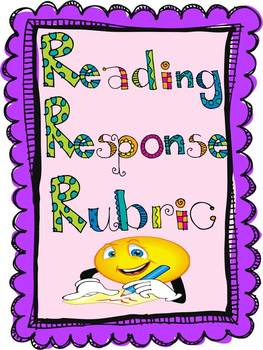 Reading Response and Checklist