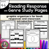 Reading Response and Genre Study Pages