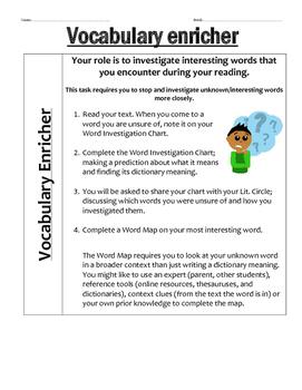 Reading Comprehension Activities